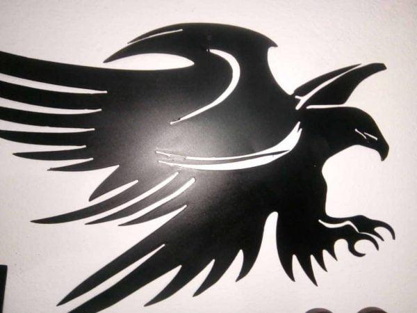 Aguila en metal