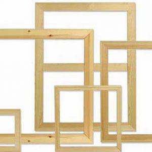 marcos en madera
