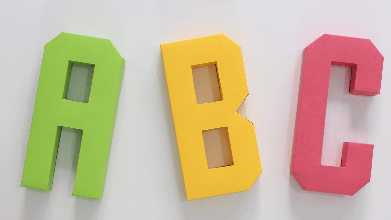 letras para decoración de eventos, hogar o proyectos publicitarios