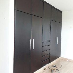 Closets y muebles en madera