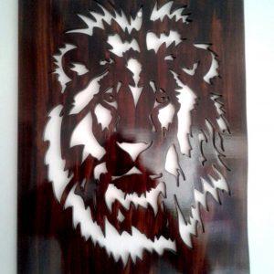 Cuadro decorativo en madera