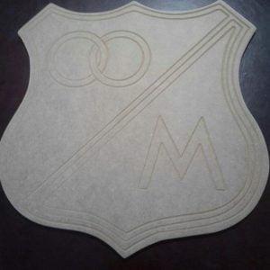 Escudo de Millonarios, para decorar.